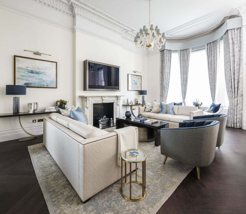 Discover The Best Interior Design Projects In London! interior design project Discover The Best Interior Design Projects In London! Knightsbridge Apartment by Taylor Howes