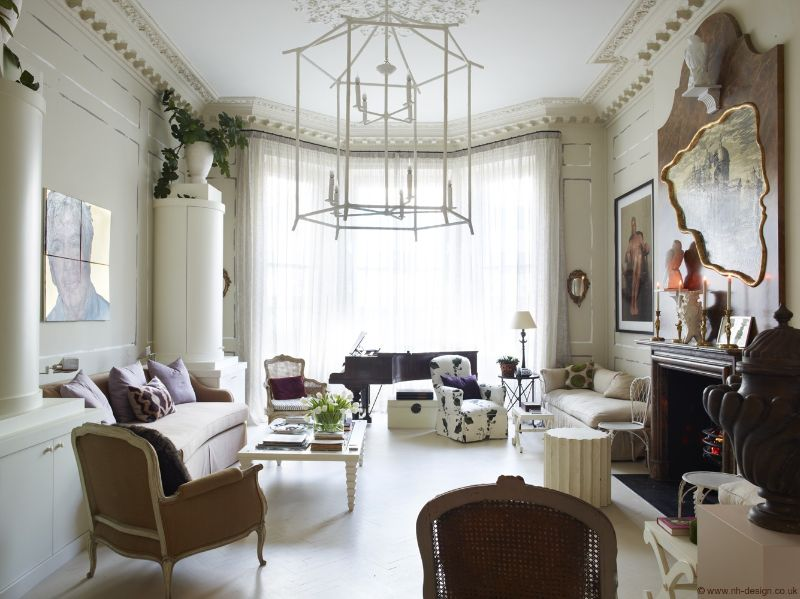 Discover The Best Interior Design Projects In London! interior design project Discover The Best Interior Design Projects In London! London Apartment by Nicky Haslam