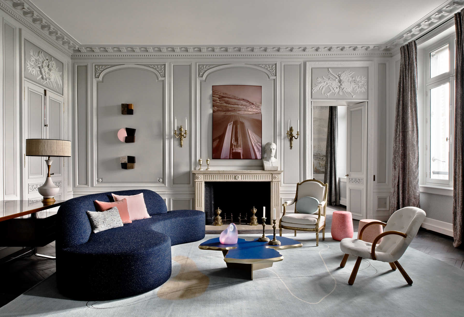 Inspiring Interior Design Projects To Discover In Paris (Part 2!) interior design project Inspiring Interior Design Projects To Discover In Paris (Part 2!) Parisian Luxury Home by Jean Louis Deniot