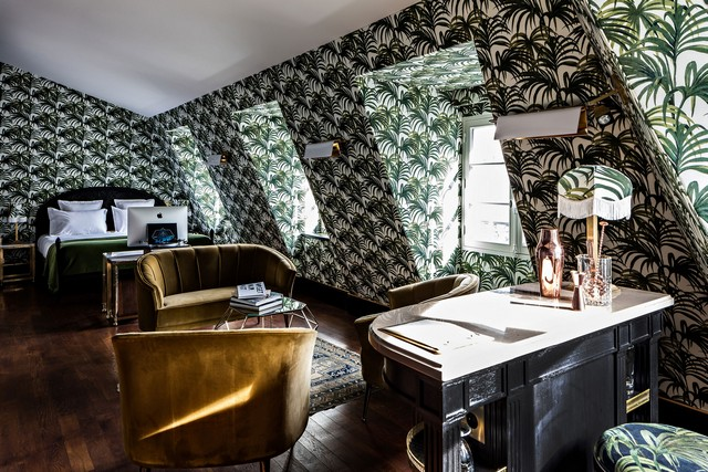 Inspiring Interior Design Projects To Discover In Paris (Part 2!) interior design project Inspiring Interior Design Projects To Discover In Paris (Part 2!) Providence Hotel by Philippe Medioni