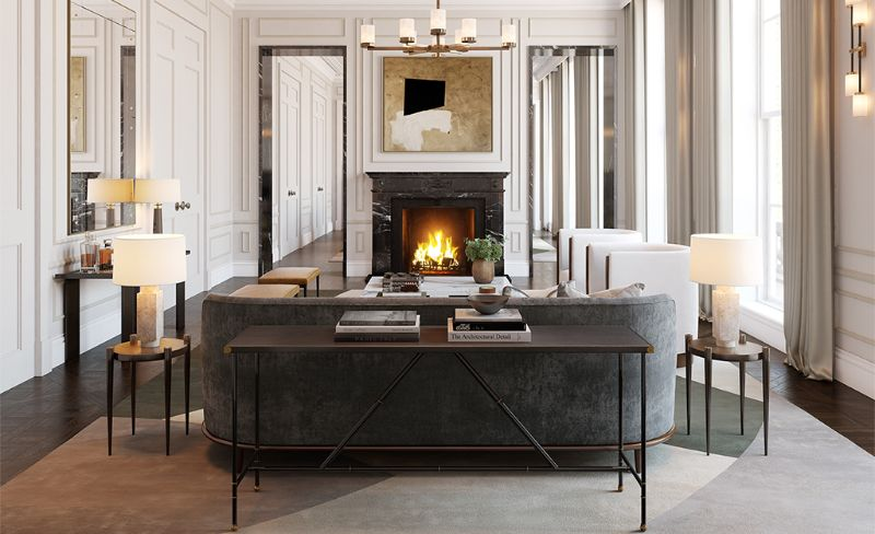 Discover The Best Interior Design Projects In London! interior design project Discover The Best Interior Design Projects In London! Regents Park Private Residence by BradyWilliams