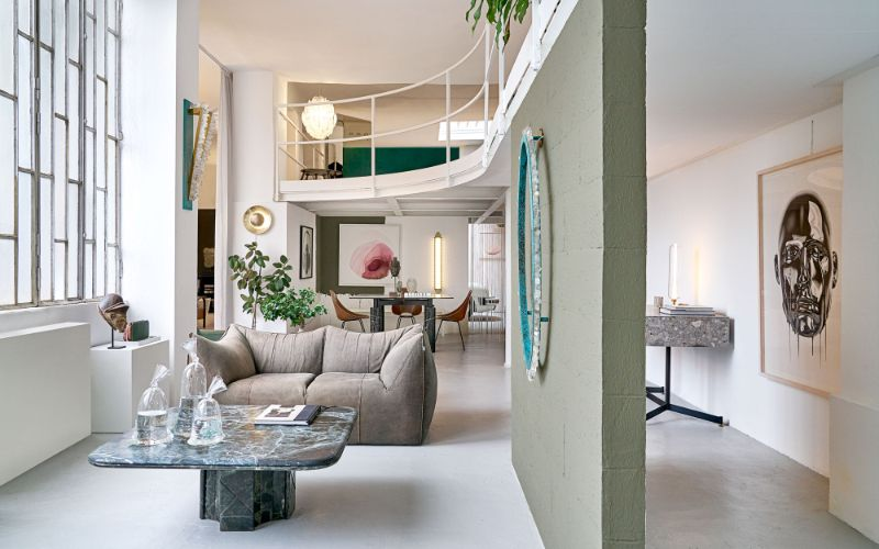 interior design project The Most Exquisite And Best Interior Design Projects In Milan Tommaso Spinzis Epic Loft A Container For All The Designers Passions 7