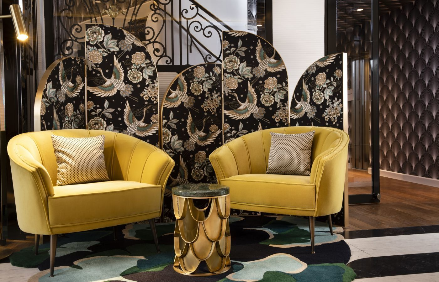 Inspiring Interior Design Projects To Discover In Paris (Part 2!) interior design project Inspiring Interior Design Projects To Discover In Paris (Part 2!) Victor Hugo Hotel Project by Laurent Maugoust