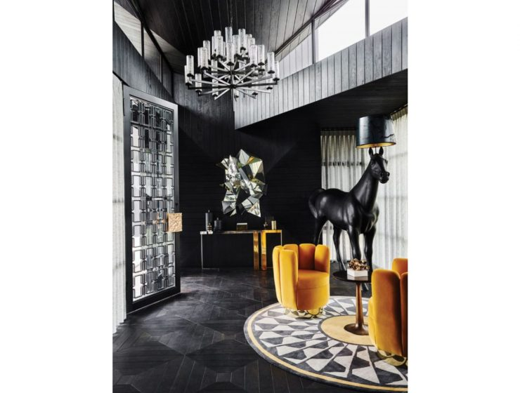 Design Projects luxury entryway Dubai Exclusive Lifestyle: Best Luxury Entryway Designs eclectic artful residence boca do lobo 5 2x 768x1024 1 740x560