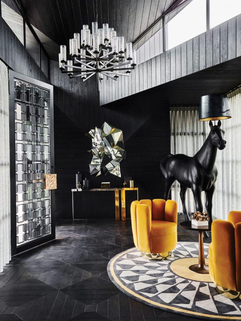 Dubai Exclusive Lifestyle: Os melhores designs de luxo de entrada de luxo em Dubai Estilo de vida exclusivo: os melhores designs de luxo de entryway residência artística eclética boca do lobo 5 2x 768x1024