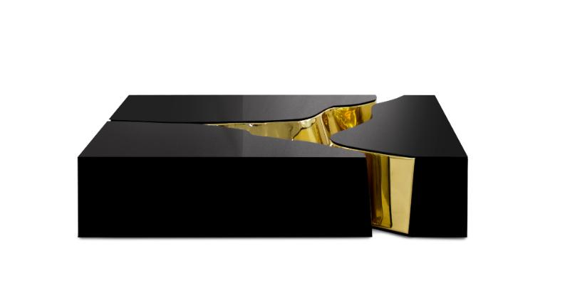 Dubai Estilo de vida exclusivo: Os melhores designs de entrada de luxo Entrada de luxo Dubai Estilo de vida exclusivo: Os melhores designs de entrada de luxo lapiaz black gold center mesa 01