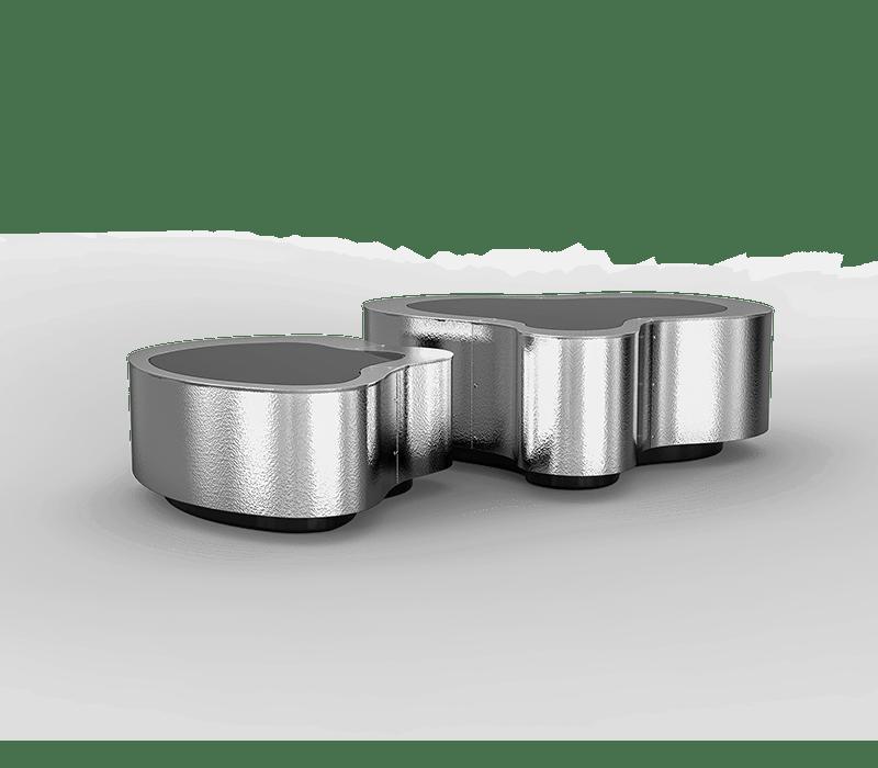 Adam Cassino Design – Best Design Firms in New York City design firm Adam Cassino Design – Best Design Firms in New York City wave hammered stainless steel center table 01 boca do lobo