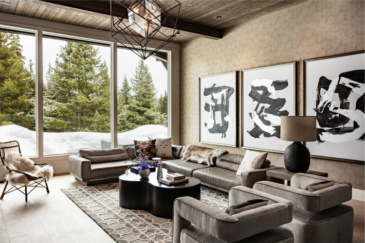 interior design project Amazing And Modern Interior Design Projects To Discover In Los Angeles JAC Interiors Big Sky Yellowstone Club