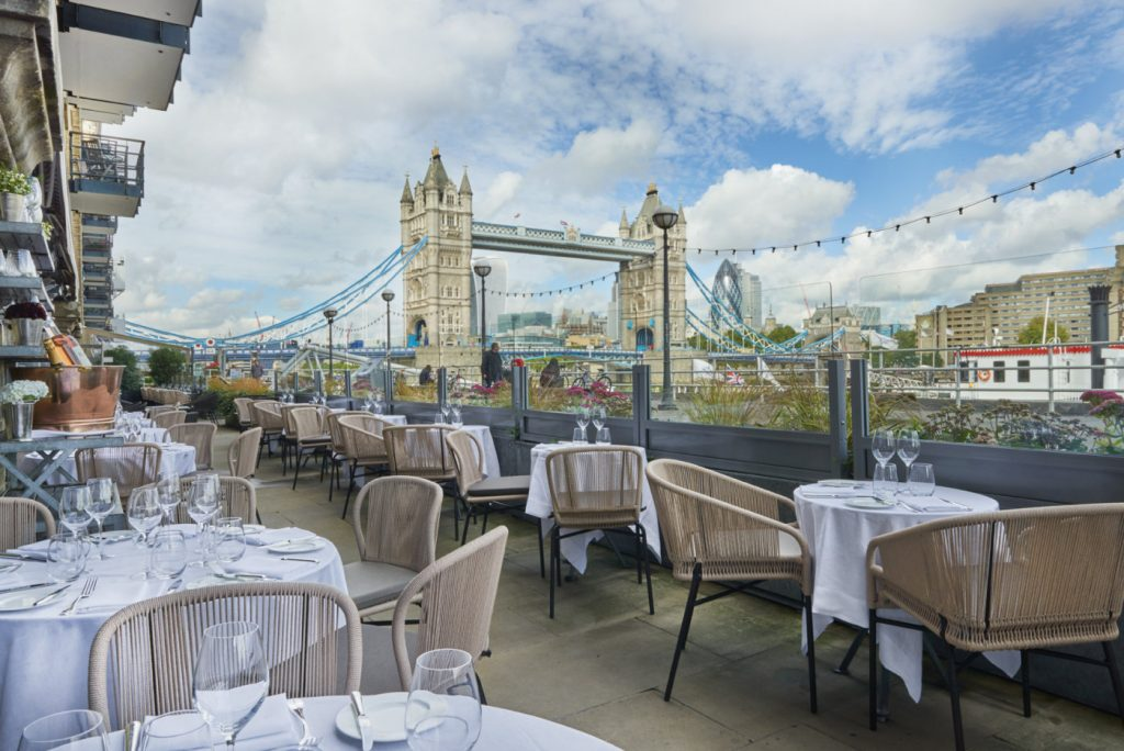 London's Next Day Out - Outdoor Dining outdoor dining London's Next Day Out – Outdoor Dining Le Pont Terrace Main 1400x935 1 1024x684