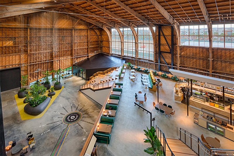 ZGF Architects: From An Airplane Hangar to A Google Office zgf architects ZGF Architects: From An Airplane Hangar to A Google Office google4