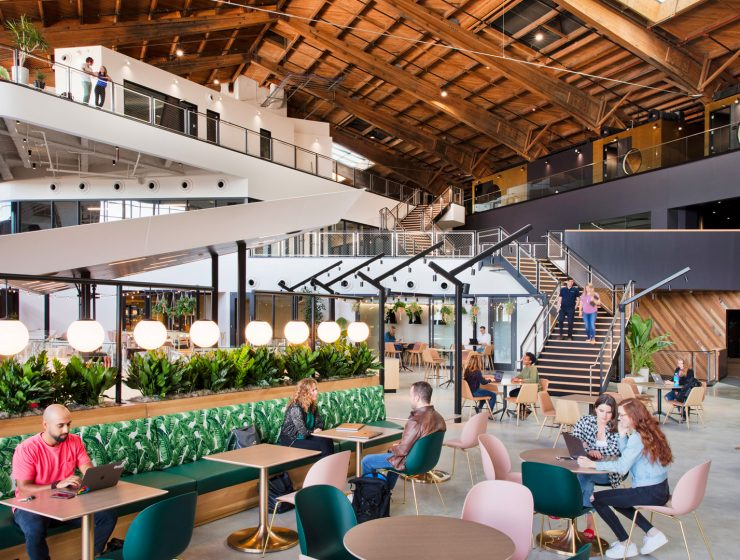 ZGF Architects: From An Airplane Hangar to A Google Office