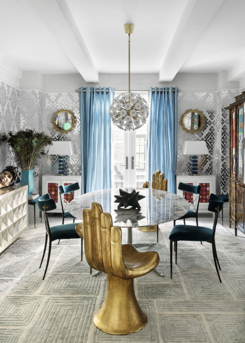Impressive Interior Design Projects by Jonathan Adler impressive interior design projects by jonathan adler Impressive Interior Design Projects by Jonathan Adler A  E2 80 98Modern American Glamour Abode