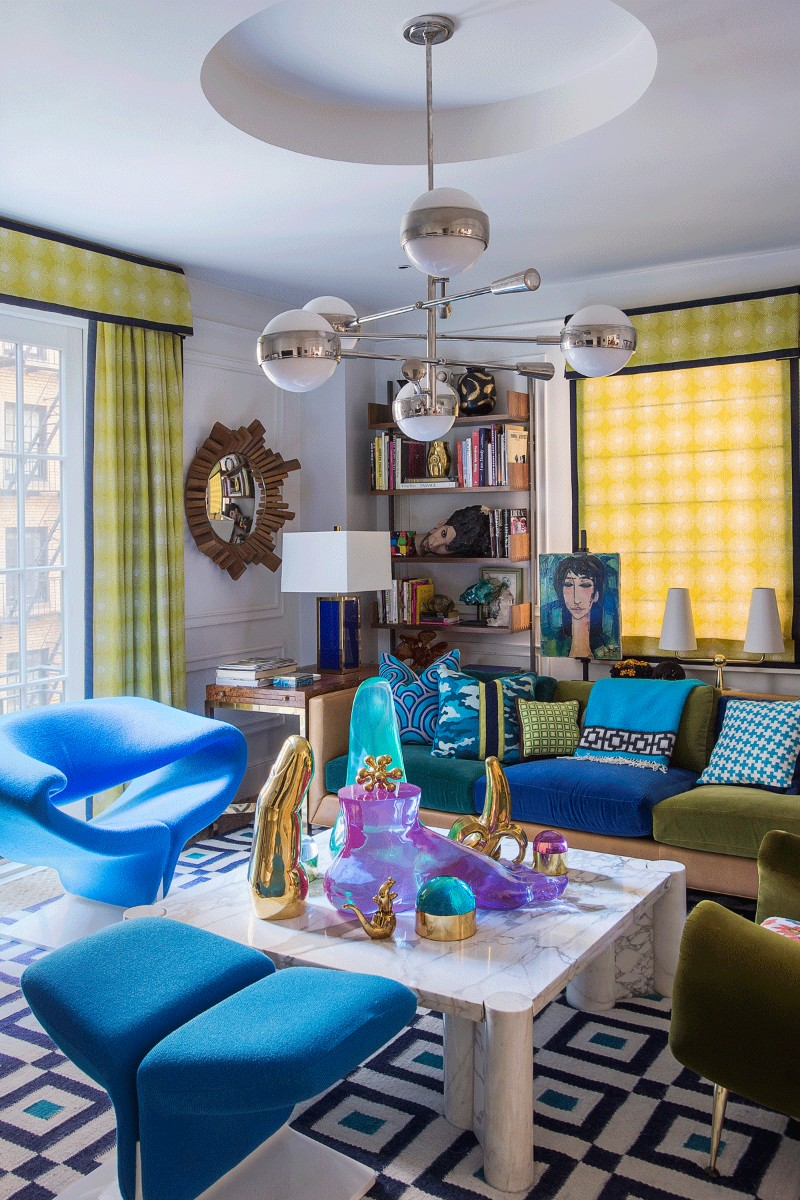 Impressive Interior Design Projects by Jonathan Adler impressive interior design projects by jonathan adler Impressive Interior Design Projects by Jonathan Adler Greenwich Village Apartment 1