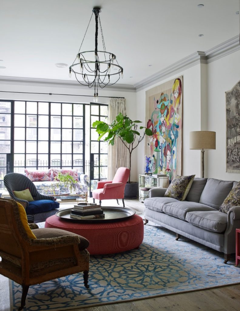West Village townhouse in New York: historical meets industrial design by BWARCHITECTS industrial design West Village townhouse in New York: historical meets industrial design by BWARCHITECTS HG BANK ST 2014 0515 073 791x1024