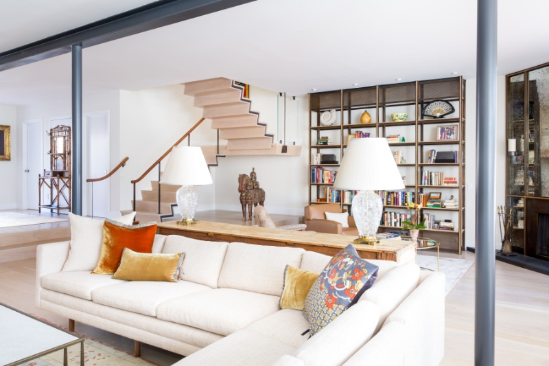 West Village Townhouse in New York: Historic Meets Industrial Design by BWARCHITECTS
