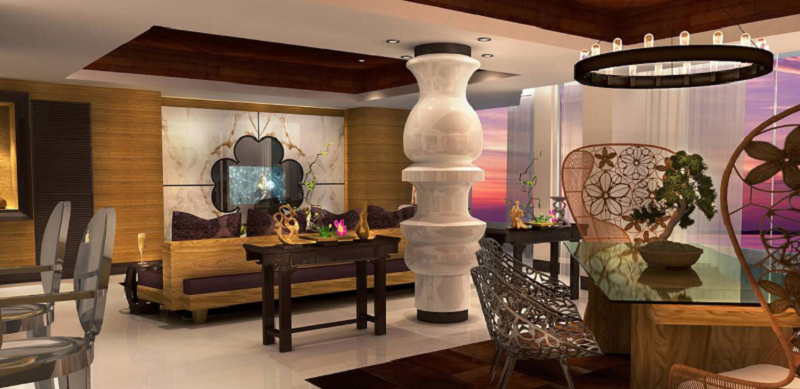 Leading Edge Interiors By Francois Frossard Design francois frossard design Mesmerizing Interiors By Francois Frossard Design moon palace nizuc 1