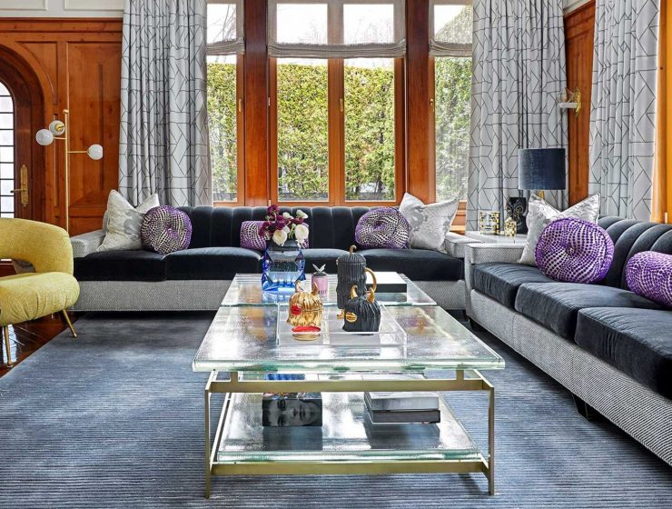 interior design project Luxury Oozing Interior Design Projects in New York by Joyce D. Silverman NYC Brooklyn Interior Designer Joyce Silverman Interiors 1 740x560