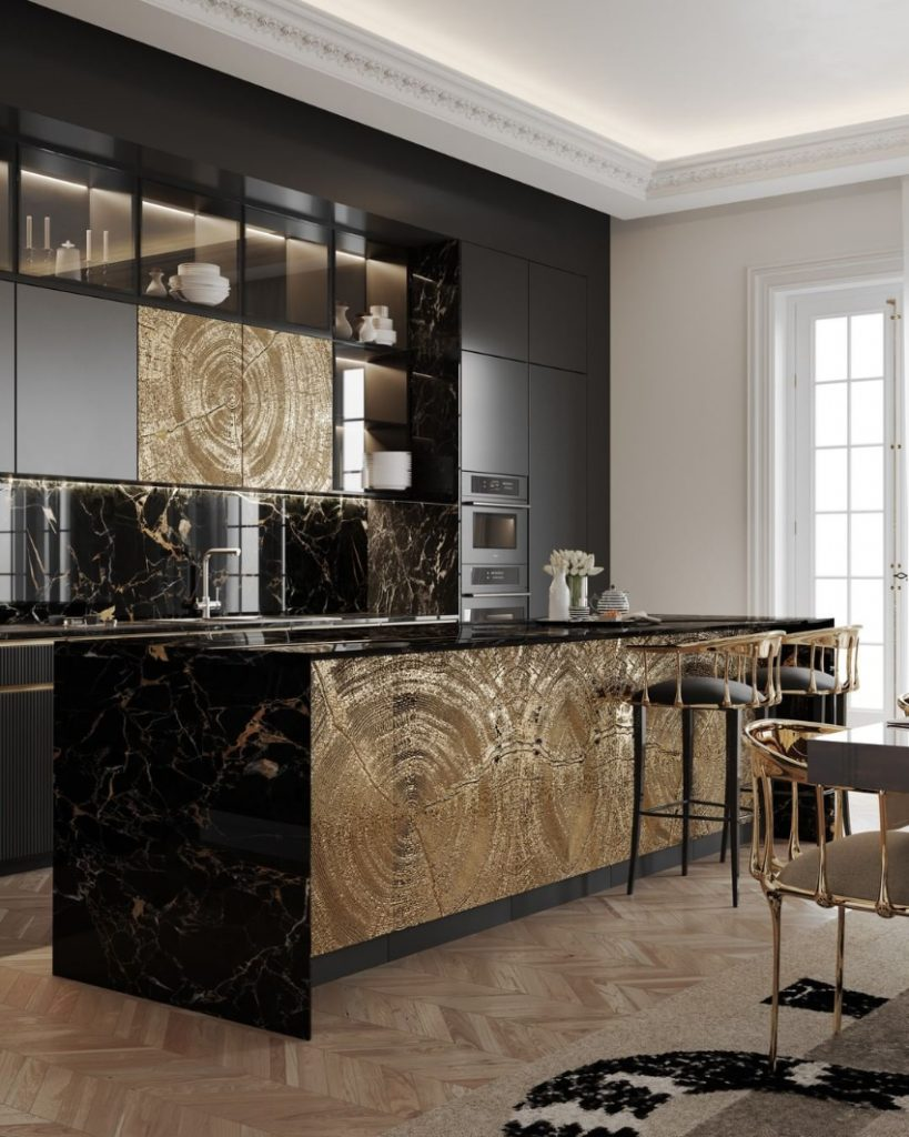 dining room Luxury Dining Room Ideas That Will Inspire You bl bespoke kitchen 1 1 819x1024