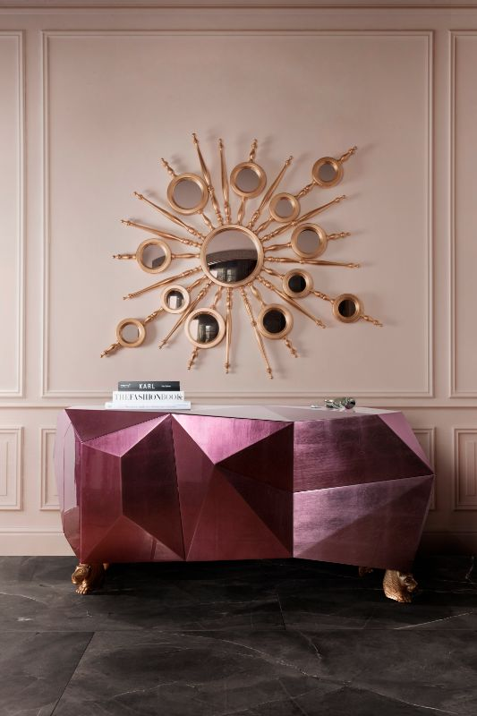 Luxury mirror Luxury mirror to improve your luxury home bl Diamond Luxury sideboard 2 diamond