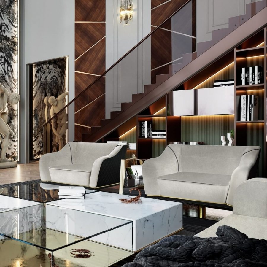 Exclusive Furniture Ideas For A Sophisticated Home  exclusive furniture Exclusive Furniture Ideas For A Sophisticated Home bl eclectic living room 900x900 1