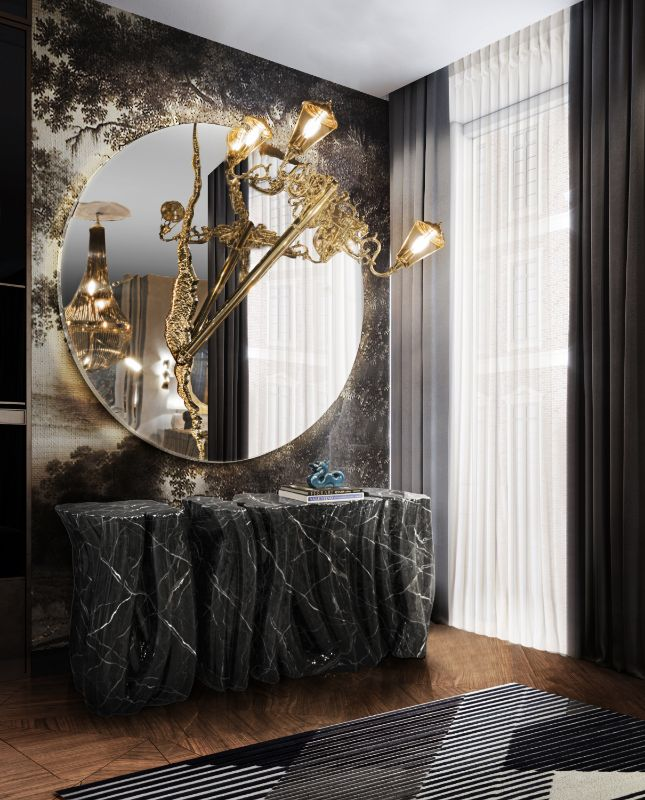 Luxury mirror luxury mirror to enhance your luxury home bl handcrafted monochrome sideboard 1