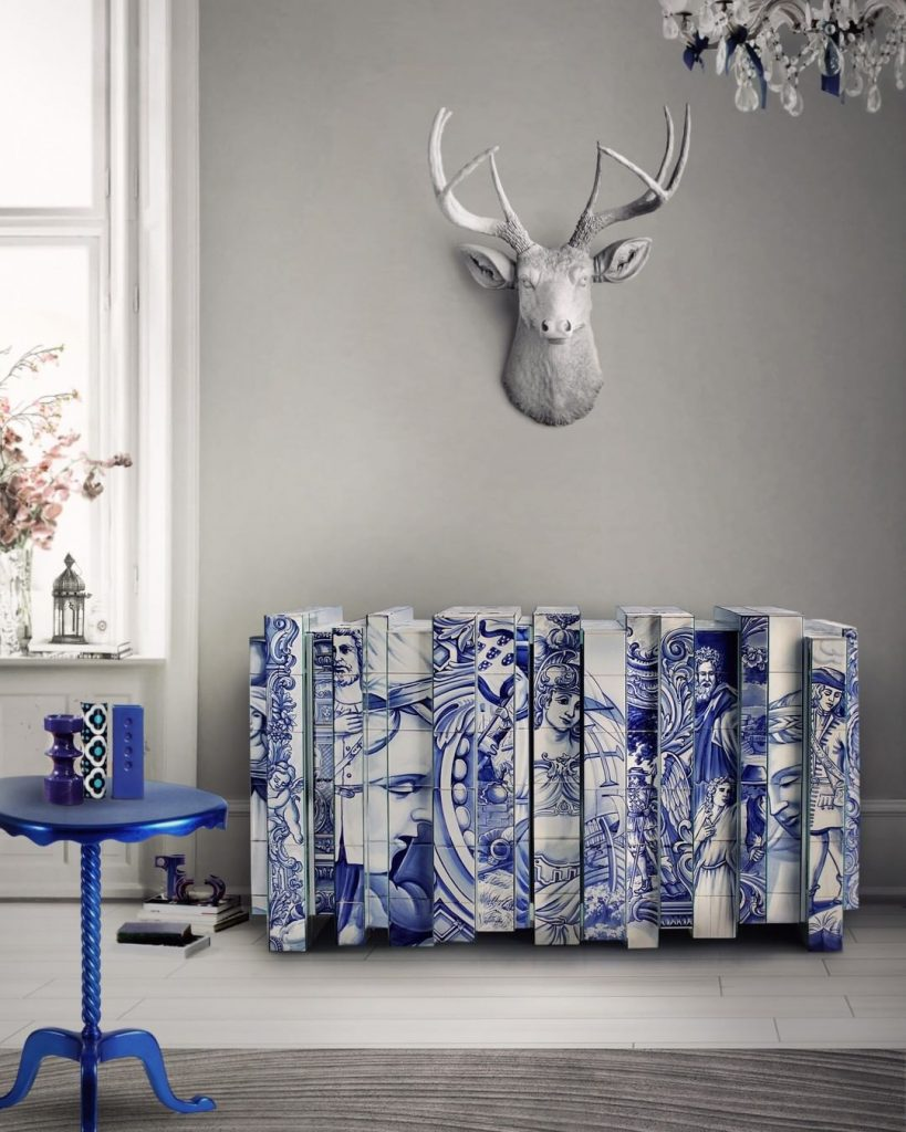 exclusive furniture Exclusive Furniture Ideas For A Sophisticated Home bl heritage handpainted buffet 819x1024 1