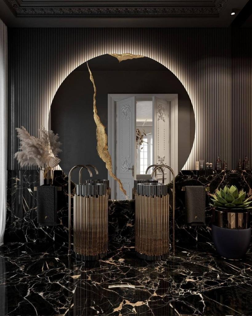 6 Luxury Ideas to Fix Up Your Home luxury ideas 6 Luxury Ideas to Fix Up Your Home bl lumiere round mirror 819x1024 1