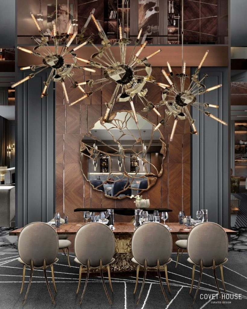 dining room Are You Going To Renovate Your Dining Room? Here Are 6 Inspirations For You! bl luxury dining room design 2 819x1024