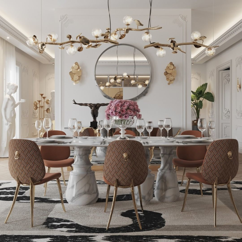 dining room Luxury Dining Room Ideas That Will Inspire You bl modern dining room 1