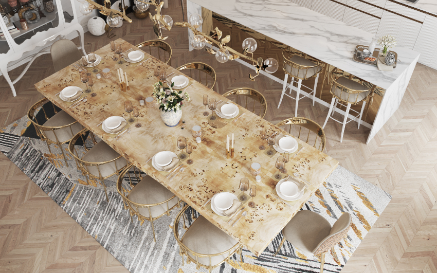 dining room Are You Going To Renovate Your Dining Room? Here Are 6 Inspirations For You! bl modern dining room ideas 2