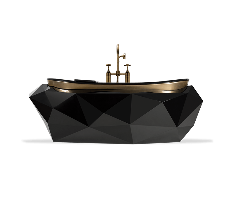 Exclusive Furniture Ideas For A Sophisticated Home  exclusive furniture Exclusive Furniture Ideas For A Sophisticated Home diamond bathtub 01 boca do lobo