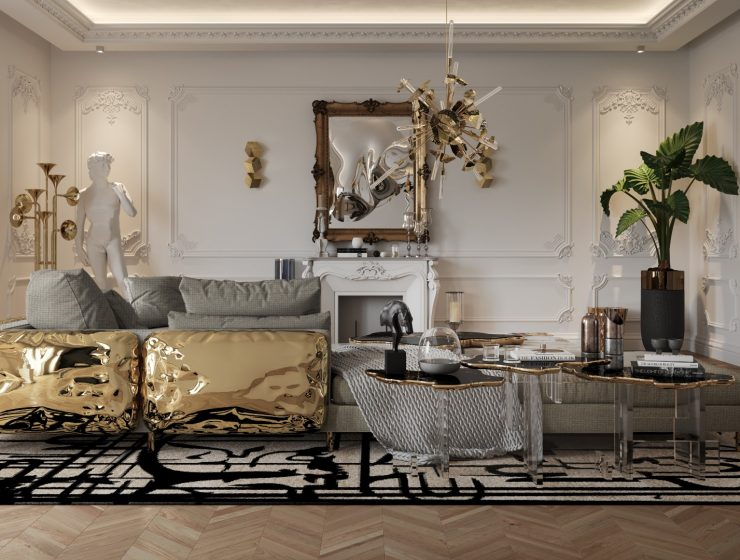 living room idea Living Room Ideas for Your American Home House Tour Of A Luxurious Paris Penthouse Exclusive Interview With Boca do Lobo Design Team ft 1 740x560