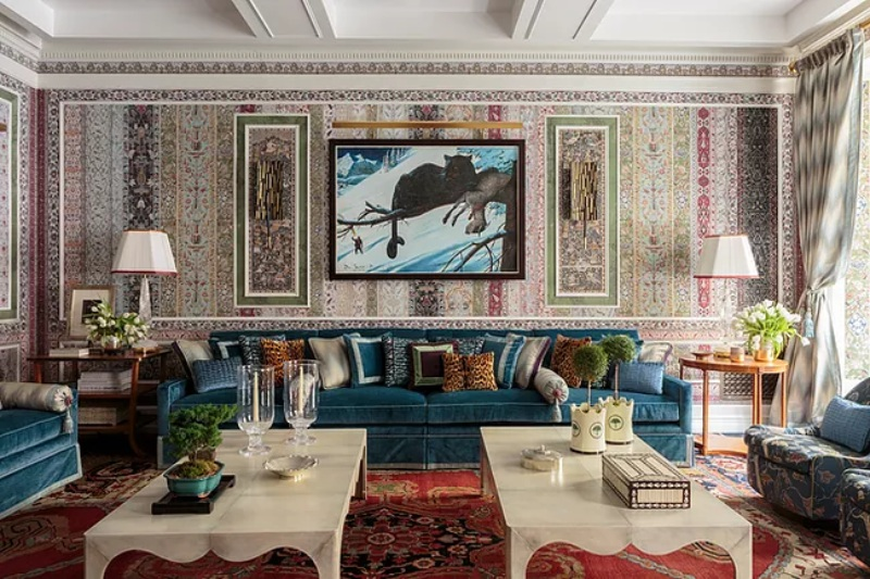 Layered Design and Rich Interiors by Richard Mishaan