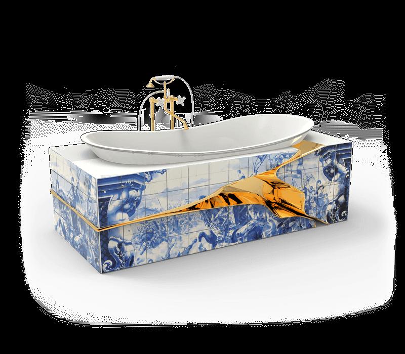 hand-painted tile The Wonders Of Craftsmanship – Details Of Hand-Painted Tiles heritage bathtub 01 boca do lobo