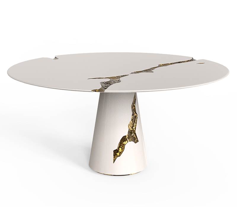Modern Decor Ideas To Inspire Your Luxury Home Design - empire round dining table