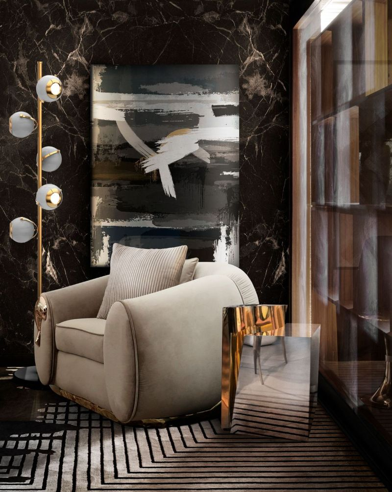 Modern Sofas That Will Fit Perfectly Your Lux ury Living Room  Soleil Armchair