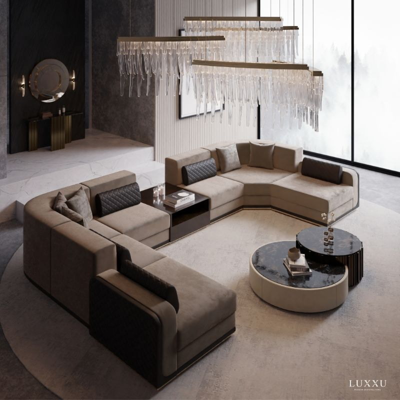 LUXURY HOME FURNITURE IDEAS FOR YOUR MODERN LIVING ROOM