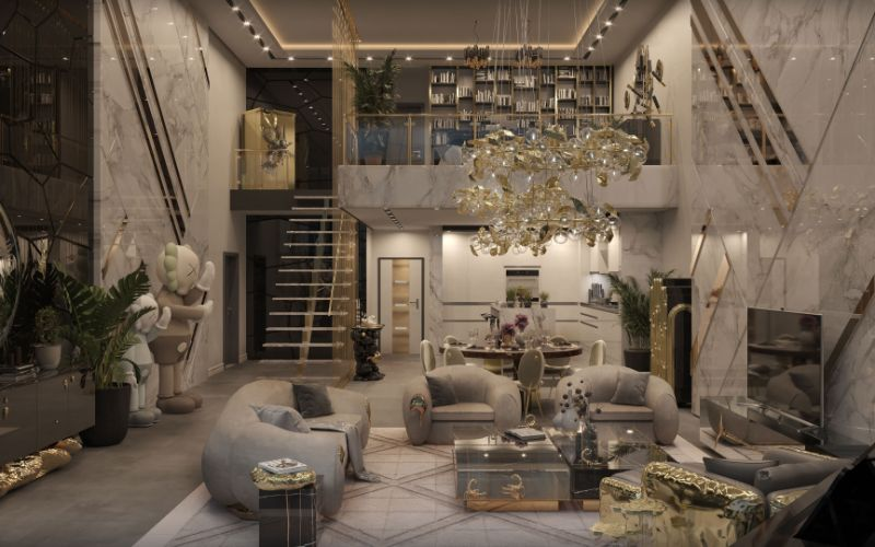New York Penthouse - An Artful Experience Curated By Boca do Lobo Studio