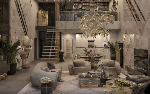 New York Penthouse - An Artful Experience Curated By Boca do Lobo Studio FT