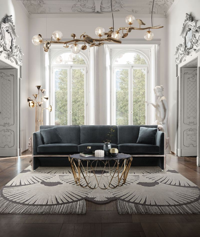 Modern Sofas That Will Fit Perfectly Your Luxury Living Room | Versailles Sofa