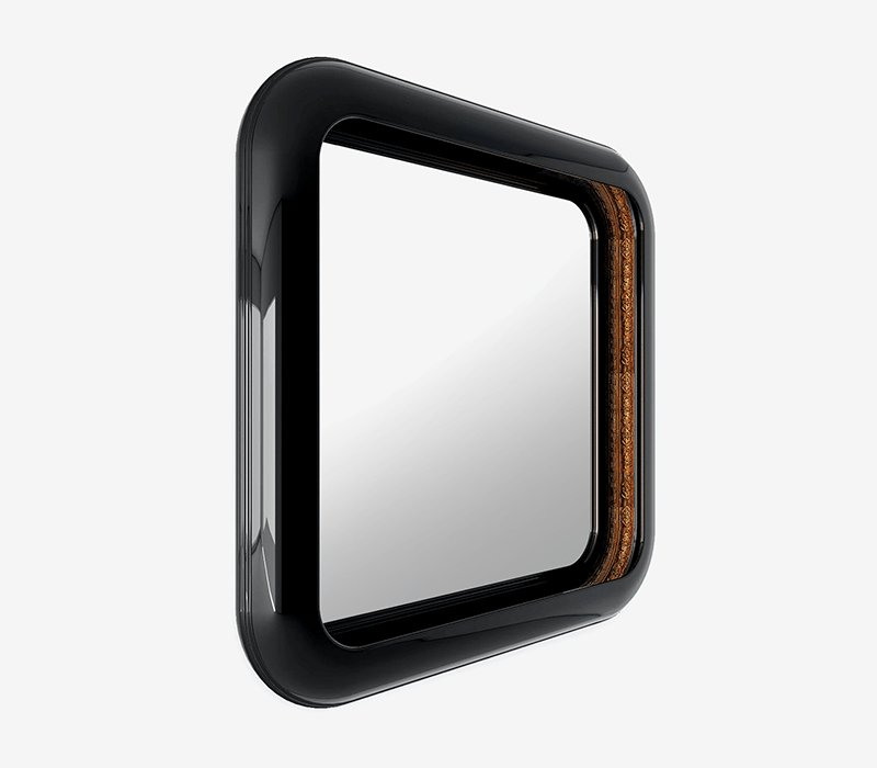 Home Furniture Ideas Perfect For A Luxury House - RING SQUARE MIRROR
