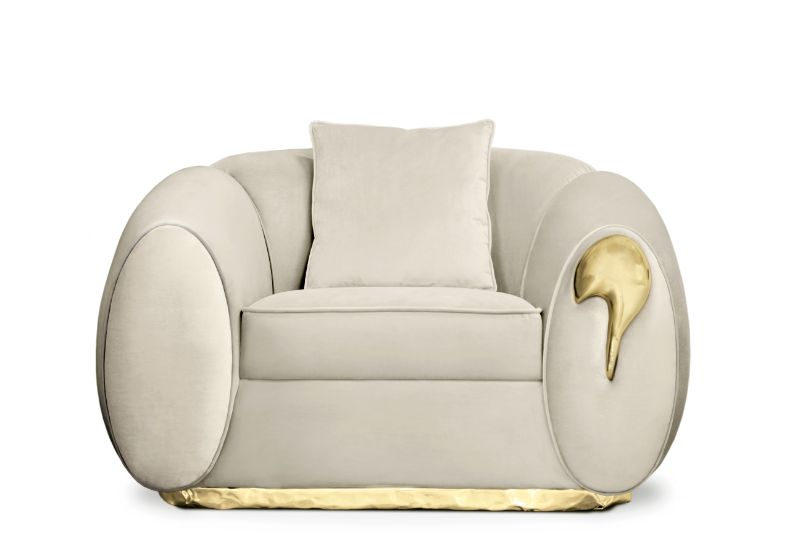 Home Furniture Ideas Perfect For A Luxury House - SOLEIL MODERN ARMCHAIR