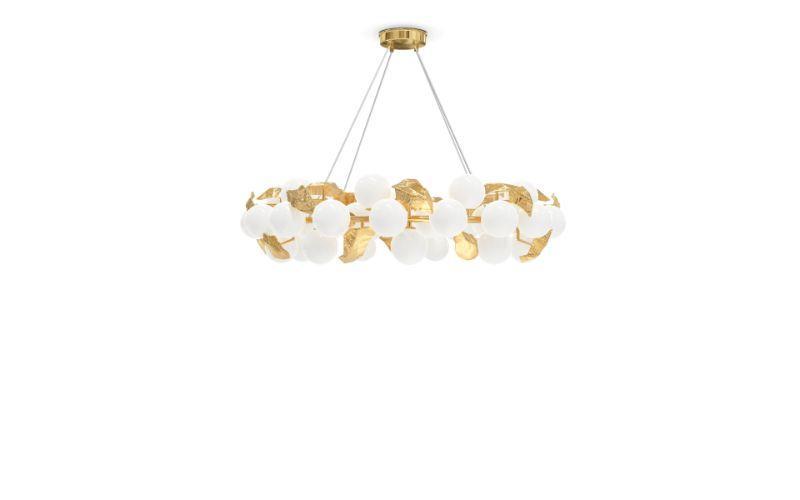 Hera Round Suspension Lamp