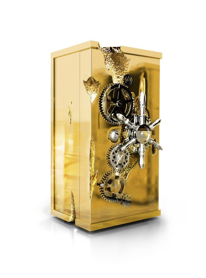 A Luxury Office Setting For An Architect's Millionaire Penthouse - MILLIONAIRE GOLD LUXURY SAFE luxury office A Luxury Office Setting For An Architect's Millionaire Penthouse A Luxury Office Setting For An Architect   s Millionaire Penthouse  6