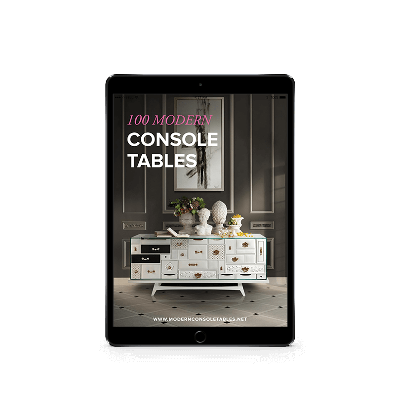 Download 100 Modern Console Tables Ebook