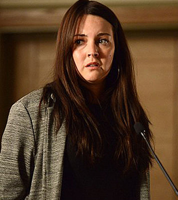 Stacey Branning will be cross-examined during the murder trial.