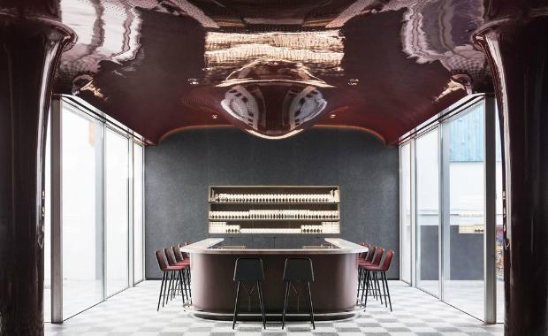 Trending - Future Retro   Trending - Future Retro Les Bains Restaurant
