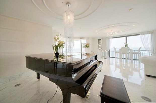 Harmony in the Key of Luxury  Harmony in the Key of Luxury Piano penthouse