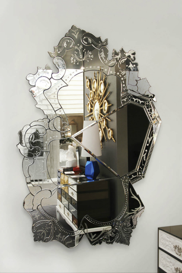 Reflections of an Exclusive Design  Reflections of an Exclusive Design Venice Wall Mirror