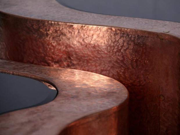 Decor Inspiration - Copper Accessories  Decor Inspiration – Copper Accessories boca do lobo wave copper